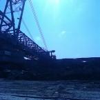 Ťažba lignitu na výrobu brikiet